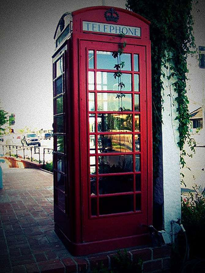 Image of a phone booth. Are you using call tracking in your digital marketing efforts?