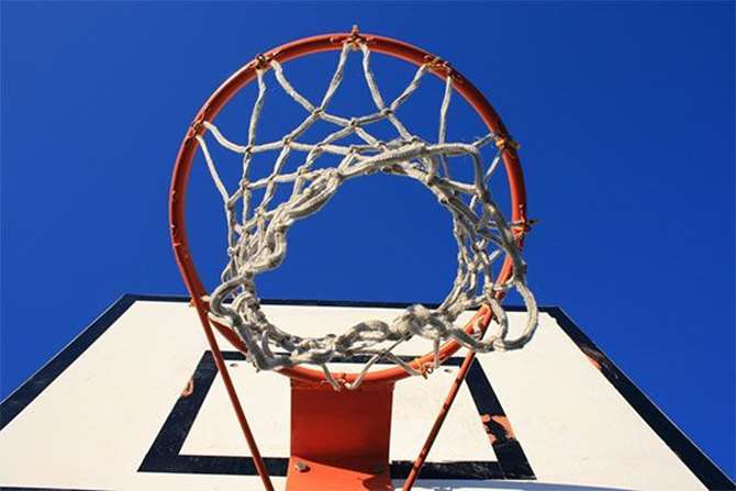 Image of a basketball hoop. Find out more about how basketball can help explain attribution modeling.