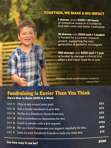 fundraising tips to get to 500