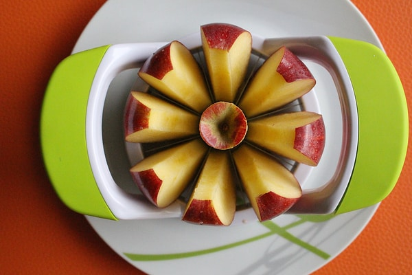 apple slices segments