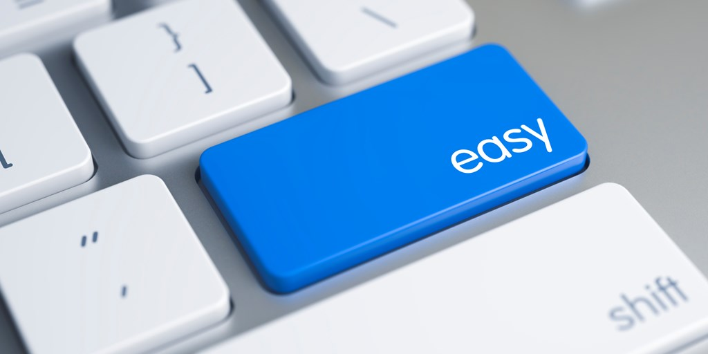 A Key To Success Online: Make It Easy
